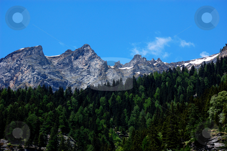 Alps Summer scenery stock photo, Alps Summer scenery (Italy, Val Formazza) by ALESSANDRO TERMIGNONE