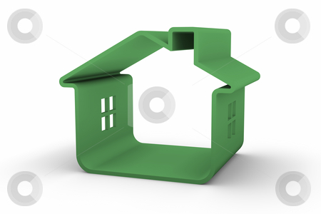 Green House  stock photo, Green house that represents sustainable buildings design by Nuno Andre