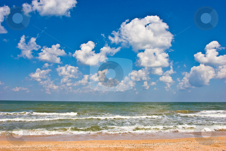 Sea stock photo, View series: hot summer sea and blue sky by Gennady Kravetsky
