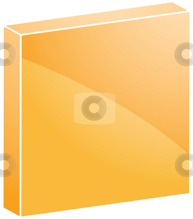 Audio icon Stop stock photo, Stop Audio icon illustration, 3d square shape by Kheng Guan Toh