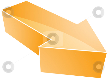 Arrow illustration stock photo, Forward moving arrow pointing right, design illustration by Kheng Guan Toh