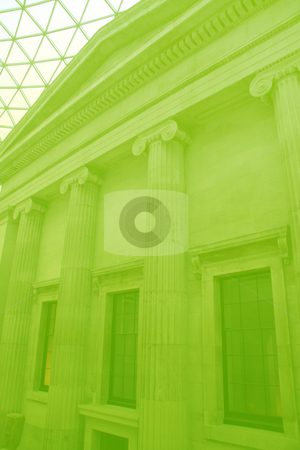 Grand building stock photo, Grand building with pillars showing government, finance by Kheng Guan Toh