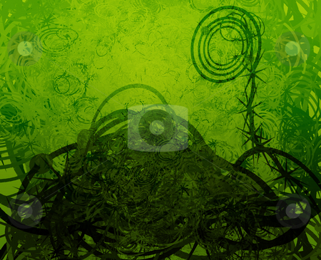 Swirly grunge stock photo, Swirly abstract grunge textured background wallpaper illustration by Kheng Guan Toh