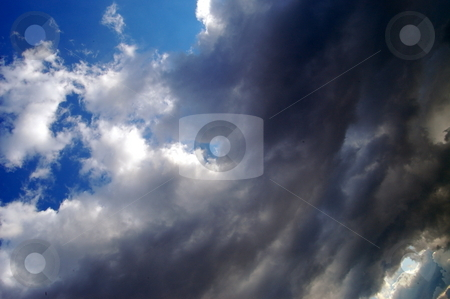 Stormy sky stock photo,  by Heather Shelley