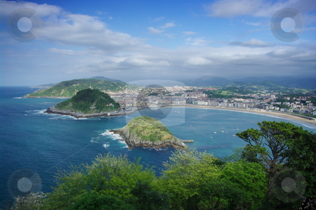 San Sebastian stock photo, San Sebastian, Basque region, Spain by Martin Darley