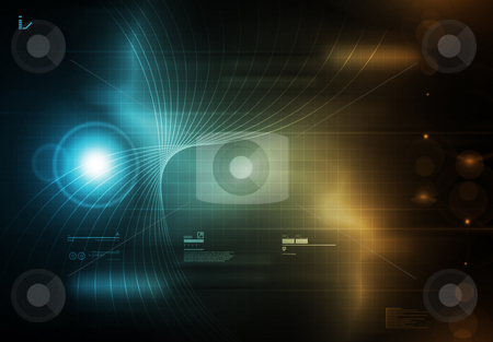 High Tech Background stock photo,  by Aurelio Scetta
