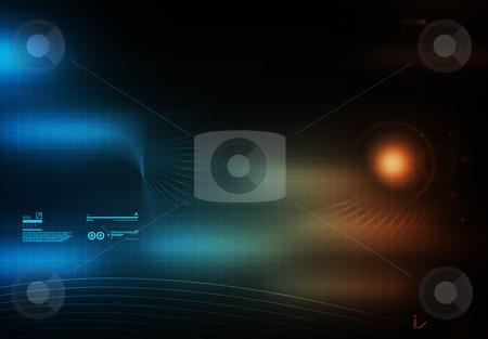 High Tech Background stock photo,  by Aurelio Scetta