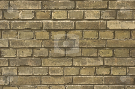 Brick wall stock photo, Brick wall background by Andreas Brenner