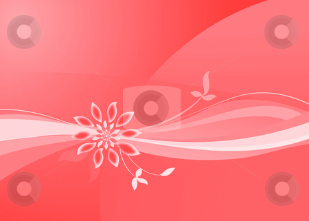 Floral wallpaper stock photo, Floral background - abstract art illustration - web site design by Stelian Ion