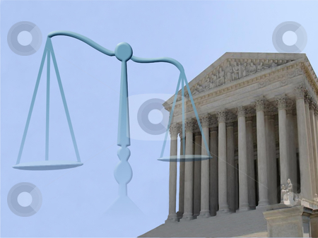 Justice symbol stock photo, Supreme court of justice and balance symbol by Stelian Ion