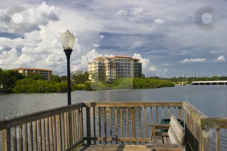 Waterfront Condominium stock photo, Waterfront condo near Sarasota, Florida by Steve Carroll