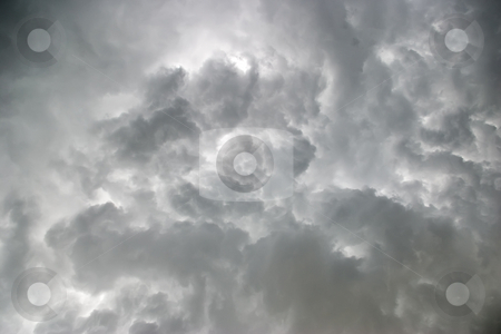 Stormy Sky stock photo, Stomy clouds over Florida by Steve Carroll