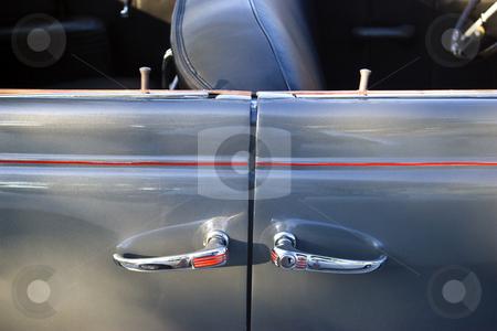 4 door convertible stock photo, A rare 1945 4-door convertible. by Steve Carroll