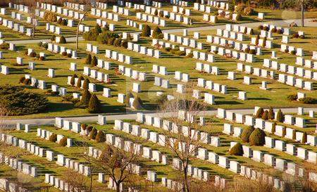 Cementery stock photo, Cementery in sun light by Pavel Cheiko