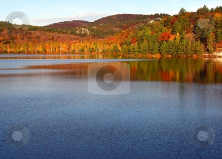 Lake stock photo, Sunny day on Lake in Killarney Park by Pavel Cheiko