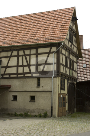 Half-timbered house stock photo, Half-timbered house by Andreas Brenner