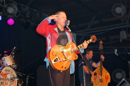 The Reverend Horton Heat stock photo,  by Heather Shelley