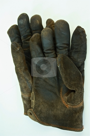 Brown gloves stock photo, Brown gloves by Gregory Dean