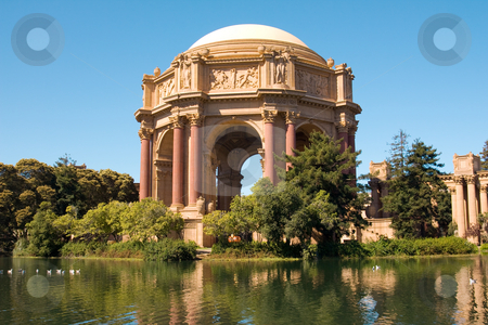 Palace of Fine Arts stock photo, The Palace of Fine Arts has been a favorite wedding location for couples throughout the San Francisco Bay Area. It is also a good place to spend evening with your love one. by Hieng Ling Tie