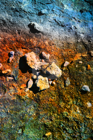 Oxidization stock photo, Oxidized ground by Christophe Rolland