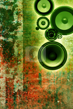 Music background stock photo, Music background by Christophe Rolland