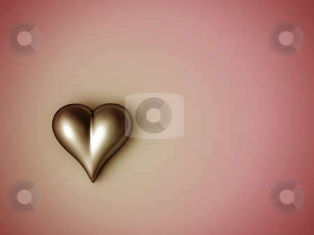 Valentine heart stock photo, Valentine heart by Christophe Rolland