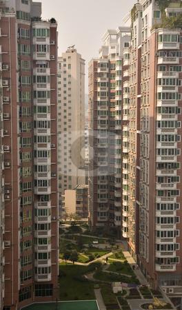 Very High Apartment Buildings Guiyang, Guizhou, China stock photo, Very High Residential Apartment Buildings, Guiyang, Guizhou, China by William Perry