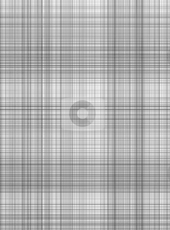 Grey gingham pattern stock photo, Seamless texture of woven square black lines on white by Wino Evertz
