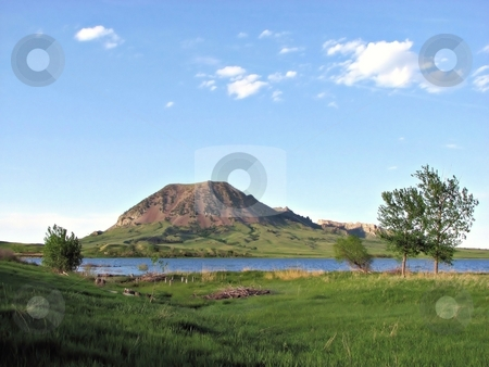 Bear Butte stock photo, Taken near newell South Dakota Close To Sturgis South Dakota! by Brian Meyer