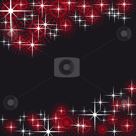Xmas theme stock vector clipart, Xmas theme ornaments nice for backgrounds by Karin Claus