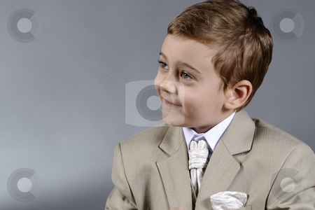 Little boy stock photo, Little boy asking help by Dragos Iliescu