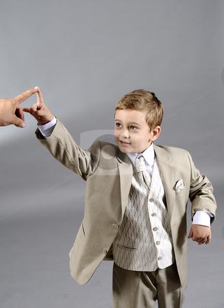Little boy stock photo, Little boy asking help by Dragos Iliescu