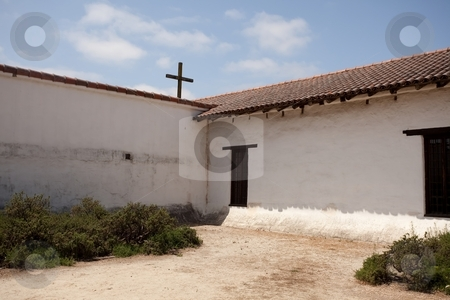 Mission San Francisco Solano stock photo, Mission San Francisco Solano was founded on July 4, 1823 and named for a missionary to the Indians of Peru born in Montilla, Spain by Mariusz Jurgielewicz