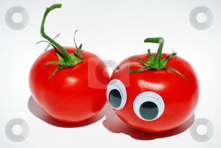 Tomato date stock photo, Couple of tomatos by Sarka