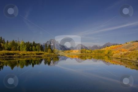 Grand Teton National Park stock photo, Oxbow bend in Grand Teton National Park by Mark Smith