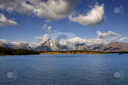Grand TetonNational Park stock photo, Jackson Lake in Grand Teton National Park by Mark Smith