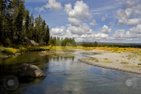 Grand Teton National Park stock photo, Snake River in grand Teton National Park by Mark Smith