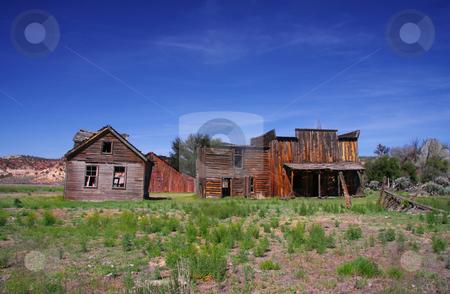 Gunsmoke Movie Set stock photo, Gunsmoke Movie set in Southern Utah by Mark Smith
