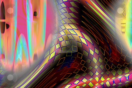 Connections stock photo, Abstract pattern of color connections by Ira J Lyles Jr