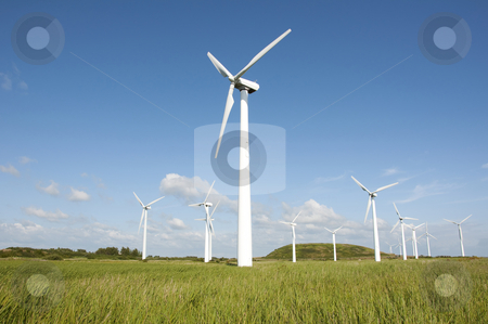 Wind turbine  stock photo, Windturbine by Jesper Klausen