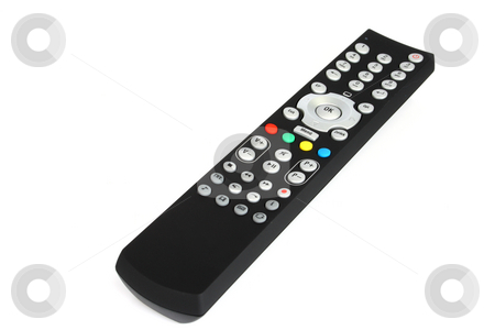 Remote Control stock photo, Remote control on white background. by Birgit Reitz-Hofmann