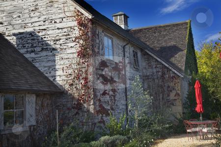 Winery French Farm House Napa California stock photo, Winery French Farm House Napa California by William Perry