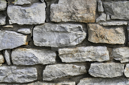 Stone Wall stock photo,  by W. Paul Thomas