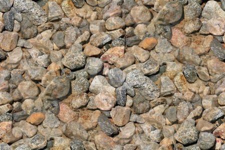Seamless Background Gravel Stones stock photo, Seamless background or wallpeper with gravel stones by Henrik Lehnerer