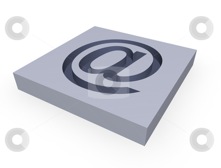 Email stock photo, Grey