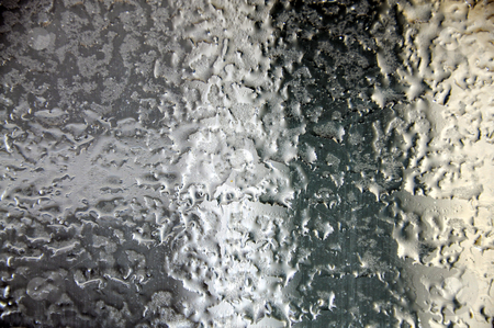 Iced Over Windshield stock photo,  by W. Paul Thomas