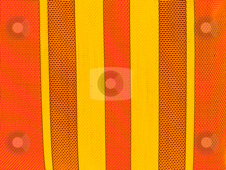 Lawn Chair Webbing stock photo,  by W. Paul Thomas