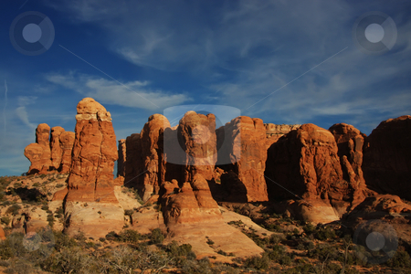 Arches National  Park stock photo, Arches National Park by Mark Smith