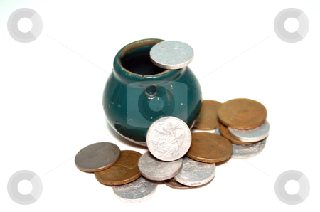 Pot of money stock photo, A pot of money by Nurul Huda