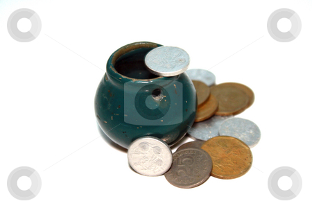 Pot of money stock photo, A pot of money by Nurul Huda